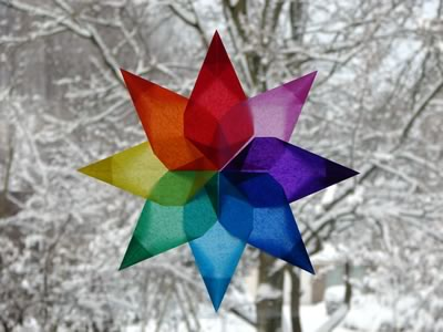 easy to make christmas decorations window star esther