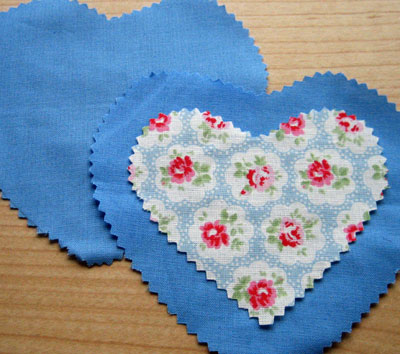 gifts to sew lavender heart 1