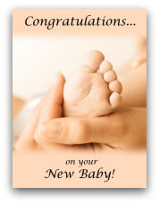 printable baby cards feet